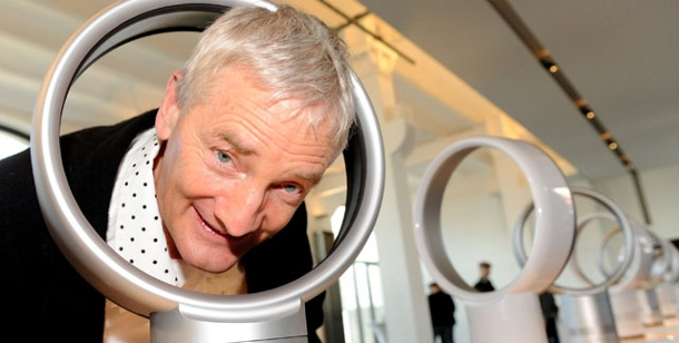 erfinder james dyson pr sentiert ventilator ohne rotorbl tter. Black Bedroom Furniture Sets. Home Design Ideas