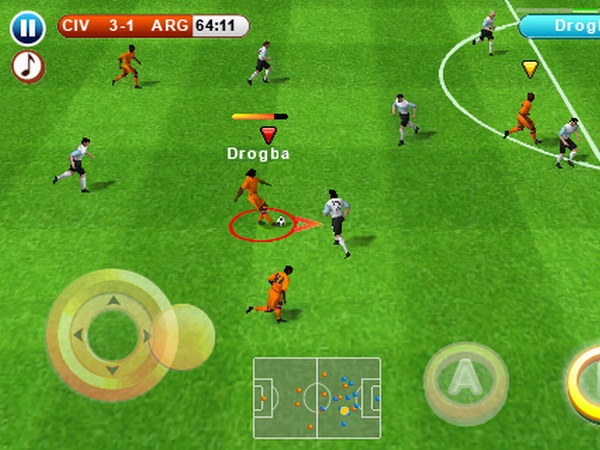 Real Football 2010 iPhone-Spiel