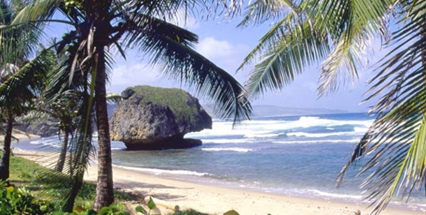 Inselurlaub für jeden Typ. Die Insel Barbados und Bathsheba Beach.  (Foto: News Plus Communications + Media)