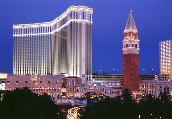 "Las Vegas: Hotel ""Venetian"" (Foto: Las Vegas Convention & Visitors Authority)"