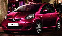 ". Toyota Aygo ""Cool Red"" (Foto: Toyota)"