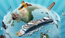 Mit Royal Caribbean International die Welt vom Meer aus entdecken (Grafik: Royal Caribbean International)