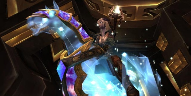 """World of Warcraft"": Echte Millionen mit virtuellem Pferd. Das ""Himmelsross"" im Online-Spiel ""World of Warcraft"" (Bild: Blizzard)"