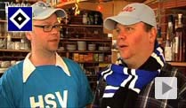 Hamburg Fans Holli (r.) und Toddie. (Screenshot: Tventy)