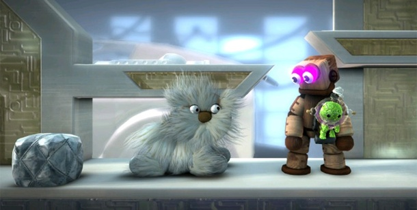 "Sony kündigt Jump'n'Run-Spiel ""Little Big Planet 2"" für Winter 2010 an. LittleBigPlanet 2 (Bild: Sony)"