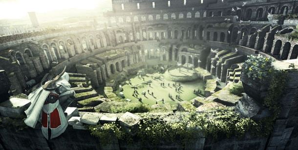 "Ubisoft kündigt ""Assassin's Creed Brotherhood"" an. Assassin's Creed Brotherhood (Bild: Ubisoft)"
