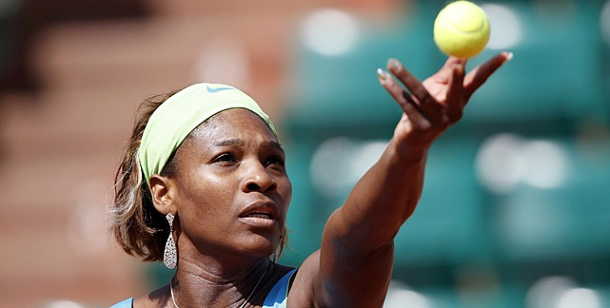 French Open: Williams erteilt Görges eine Lehrstunde. Voll fokussiert in Paris: Serena Williams wird ihrer Favoritenrolle gerecht. (Foto: Reuters)