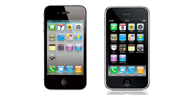 Apples iPhone 4G im Detail. iPhone 4 gegen iPhone 3GS - wo liegen die Unterschiede? (Foto: Apple)