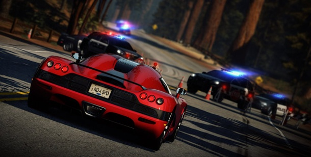 """Need for Speed: Hot Pursuit"" - Neues Rennspiel von EA für PS3, PC und Xbox 360. Need for Speed: Hot Pursuit (Bild: EA)"