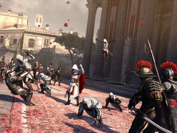 Assassin's Creed: Brotherhood Action-Adventure von Ubisoft für Xbox 360, PS3 und PC