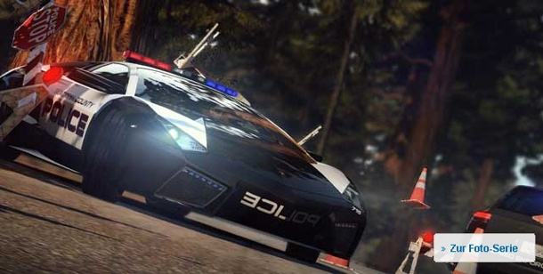 "Preview ""Need for Speed Hot Pursuit"": Rennspiel für PC, PS3, Xbox 360 und Wii. Need for Speed: Hot Pursuit Action-Rennspiel für PC, PS3, Xbox 360 und Wii von EA"