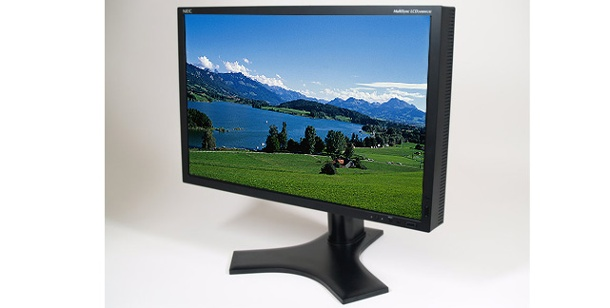 NEC Multisync: 24 Zoll LCD/TFT-Monitor im Test. NEC Multisync 2490WUXi (Foto: NEC Display Solutions)