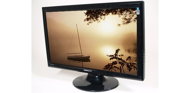 TFT-Monitor im Test: Hannspree HF257. Hannspree HF257: TFT-Display mit 25 Zoll Diagonale (Foto: pcwelt)