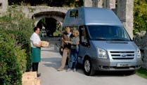 Ford zeigt neues Reisemobil Transit Nugget. Ford Transit Nugget (Foto: Ford)