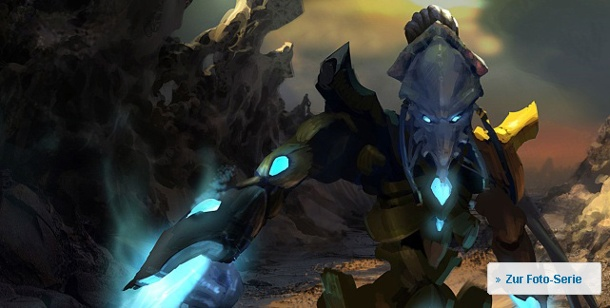 """Starcraft 2 - Wings of Liberty"": Strategiespiel im Test. Starcraft 2 (Bild: Blizzard)"