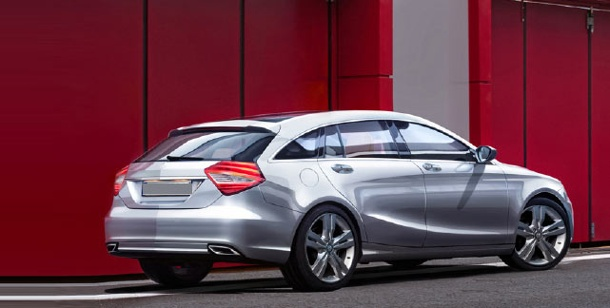 Mercedes CLC Shooting Brake: Neuer Sportkombi. Mercedes CLC Shooting Brake (Foto: Auto Bild/ Larson)