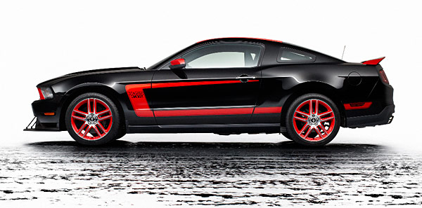 Ford Mustang mit dem  Laguna Seca-Package (Foto: Ford)