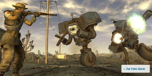 Preview Fallout: New Vegas. Fallout New Vegas von Obsidian Entertainment für PC, Xbox 360 und PS3