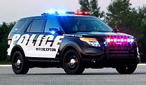 Ford zeigt neues US-Polizeiauto Interceptor SUV. Ford Interceptor SUV (Foto: Ford)