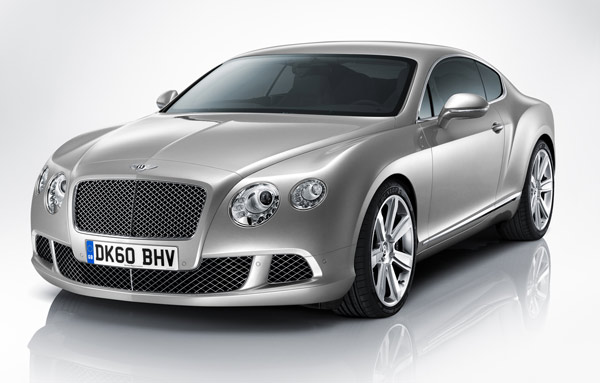 Brite ohne Understatement, aber mit viel Power: der neue Bentley Continental GT Coupé. (Foto: Bentley)