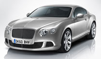 Pariser Autosalon: Preise für Bentley Continental GT stehen fest . Bentley Continental GT (Foto: Bentley)