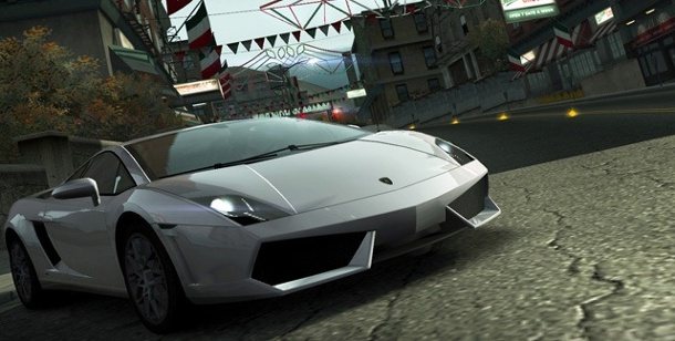 """Need for Speed"" soll im Kino vorfahren. Need for Speed World (Quelle: Electronic Arts)"