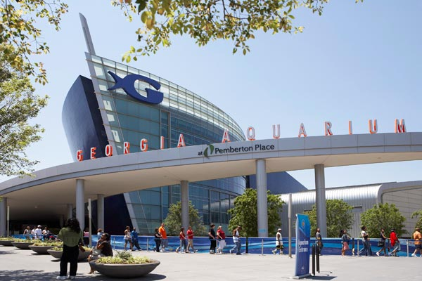 """Georgia Aquarium"" in Atlanta (Foto: ©2007/AtlantaPhotos.com)"