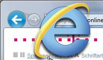 Internet Explorer 9 (Grafik: t-online.de)