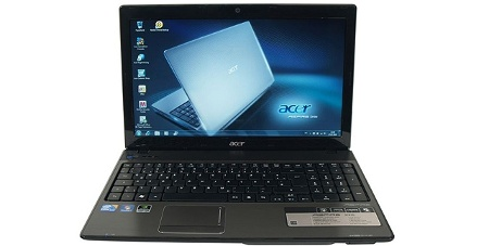 Allround-Notebook mit Core i5: Acer Aspire 5741G-434G64BN (Foto: pcwelt)