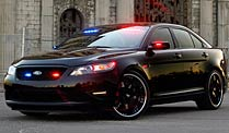 Stealth Ford Police Interceptor: Getarntes Polizeiauto. Stealth Ford Police Interceptor (Foto: Ford)