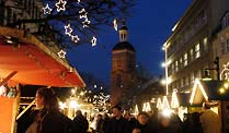 Weihnachtsmarkt in Berlin (Foto: dpa)