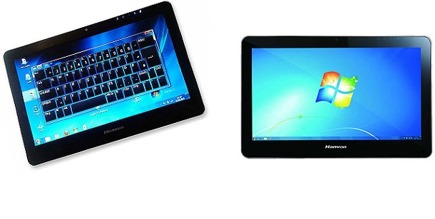 Hanvon Touchpad B10: Tablet-PC im Test. Tablet-PC mit Windows 7 im Test: Hanvon Touchpad B10 (Foto: Hersteller)