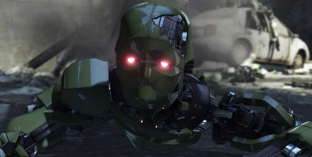 """Binary Domain"": Segas neuer Science-Fiction-Shooter für PS3 und Xbox 360. Binary Domain (Bild: Sega)"