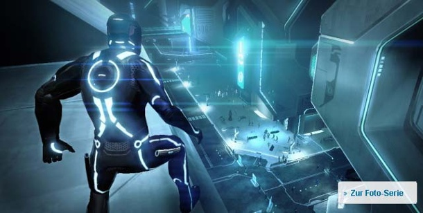 """Tron Evolution"": Krieg der Programme. Tron Evolution (Bild: Disney Interactive)"
