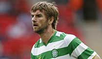 Celtic Glasgow in Angst nach mysteriösen Postsendungen. Bedrohliches in der Post: Celtics Paddy McCourt. (Foto: imago)