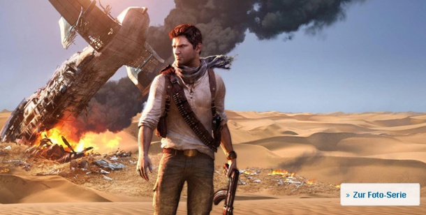 "Spieletest ""Uncharted 3 Drake's Deception"": Action-Abenteuer für die PS3 . Uncharted 3: Drake's Deception Action-Adventure von Sony für die PS3"
