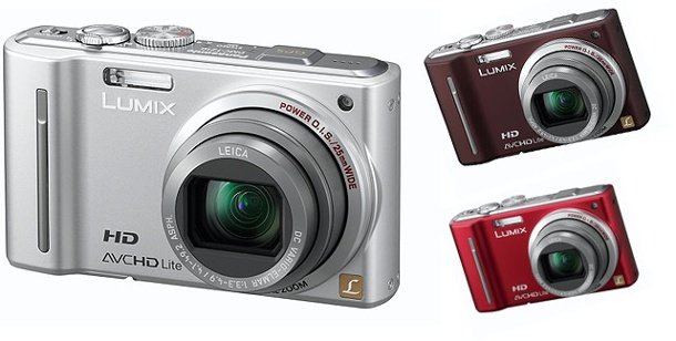 Panasonic Lumix DMC-TZ10: Kompakt-Digitalkamera im Test. Panasonic Lumix DMC-TZ10 (Foto: Hersteller)