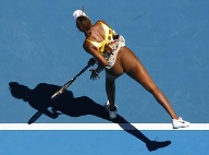 Gewagtes Outfit: Venus Williams. (Foto: Reuters) (Quelle: imago)