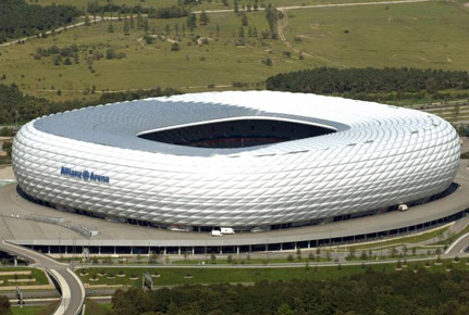 Allianz-Arena in München (Quelle: ligatotal.de)