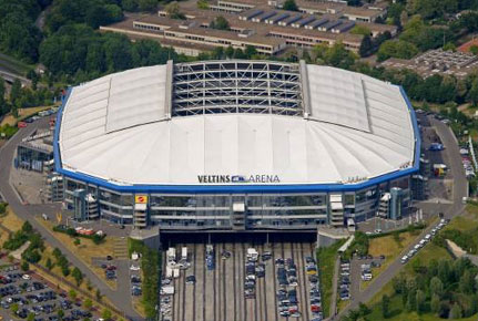 Veltins-Arena in Gelsenkirchen.