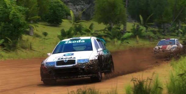 Sega Rally: Neuer Teil als Download-Game. Sega Rally Online Arcade (Bild: Sega)