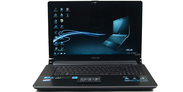 Asus N73JF-TY096V :17 Zoll Notebook im Test. Schickes Multimedia-Notebook mit USB 3.0 im Test: Asus N73JF (Foto: pcwelt)