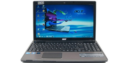 3D-Notebook im Test: Acer Aspire 5745DG (Foto: pcwelt)