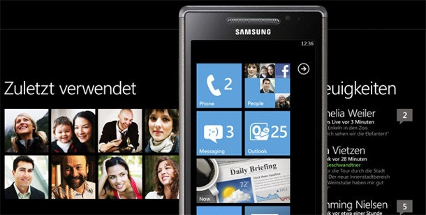 Windows Phone 7: Update legt Samsung-Handy lahm. Samsung Omnia 7: Update für Windows Phone 7 macht Probleme.