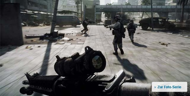 Battlefield 3: Limited Edition nicht bei Steam. Battlefield 3 (Bild: EA)