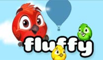 "Mobile Game ""Fluffy Birds"" hebt auf Android ab. Fluffy Birds (Quelle: GameDuell)"