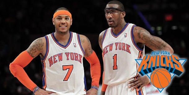 New York Knicks – Madison Square Garden ist wieder in. Carmelo Anthony (li.) und Amar'e Stoudemire sind die Superstars der New York Knicks. (Foto: imago)
