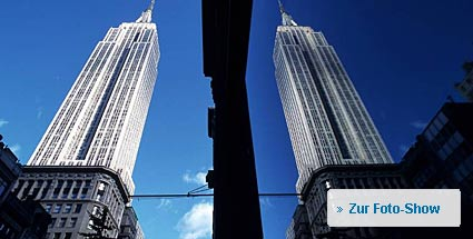 Das Empire State Building wird 80. Das Empire State Building. (Foto: Imago)