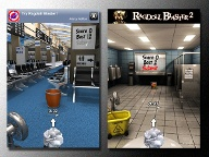 Smartphone-App: Paper Toss (Screenshot: iTunes)