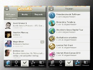 Smartphone-App: Gowalla (Screenshot: iTunes)